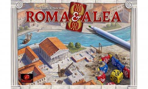 ROMA & ALEA // erscheint beim Schwerkraft Verlag