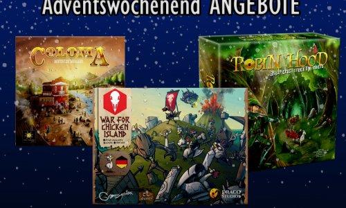 ADVENTSWOCHENEND ANGEBOTE // 3 Spiele von tl-games
