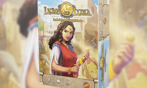 LIONS OF LYDIA // erscheint 2021 bei Spielefaible
