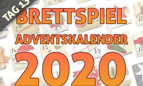 BRETTSPIEL-ADVENTSKALENDER 2020 //  TAG 13