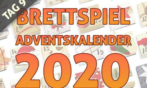 BRETTSPIEL-ADVENTSKALENDER 2020 //  TAG 9