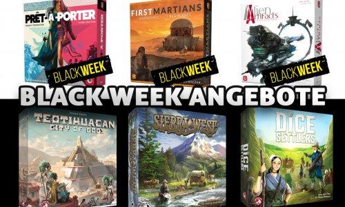 BLACK WEEK // Portal Games + Board & Dice bis zu 75% Rabatt