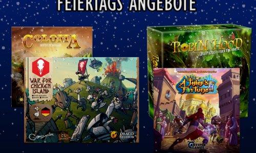 FEIERTAGS ANGEBOTE // 4 Spiele von tl-games