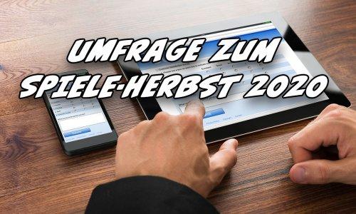 UMFRAGE // HERBST 2020 - Abstimmen & Gewinnen