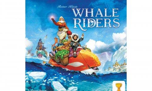 WHALE RIDERS // Reiner Knizia Spiel bald auf Kickstarter