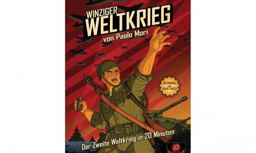 WINZIGER WELTKRIEG // ab sofort beim Schwerkraft Verlag
