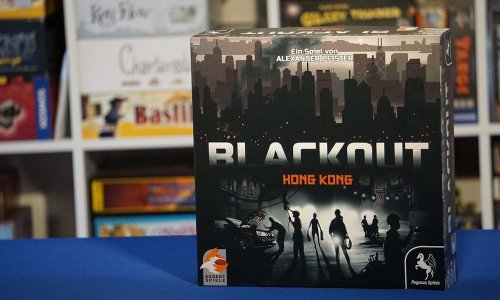 TEST // Blackout Hong Kong