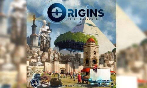 ORIGINS: FIRST BUILDERS // neues Spiel von BOARD&DICE