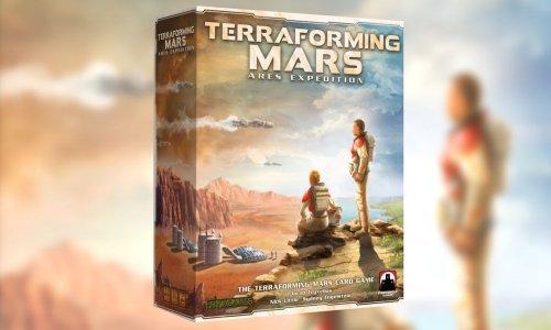 TERRAFORMING MARS: ARES EXPEDITION // Kartenspiel auf Kickstarter