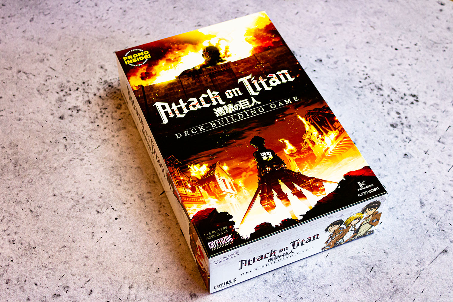 ATTACK ON TITAN: DECK-BUILDING GAME // Bilder vom Spiel