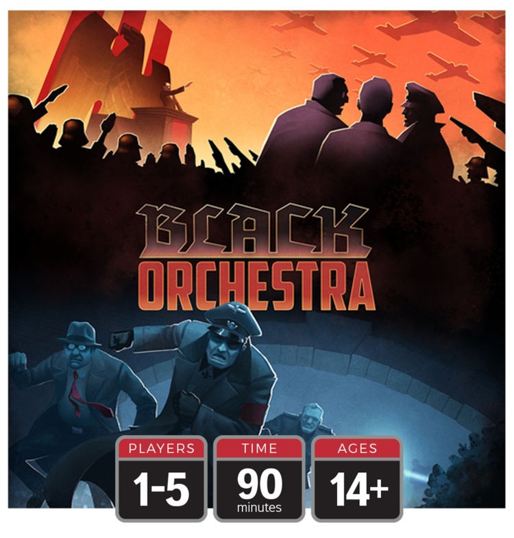 Black Orchestra Second Edition bei Kickstarter