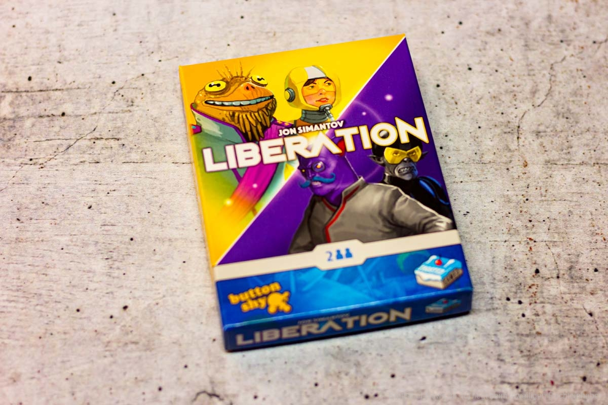 LIBERATION // BUTTON SHY Spiel