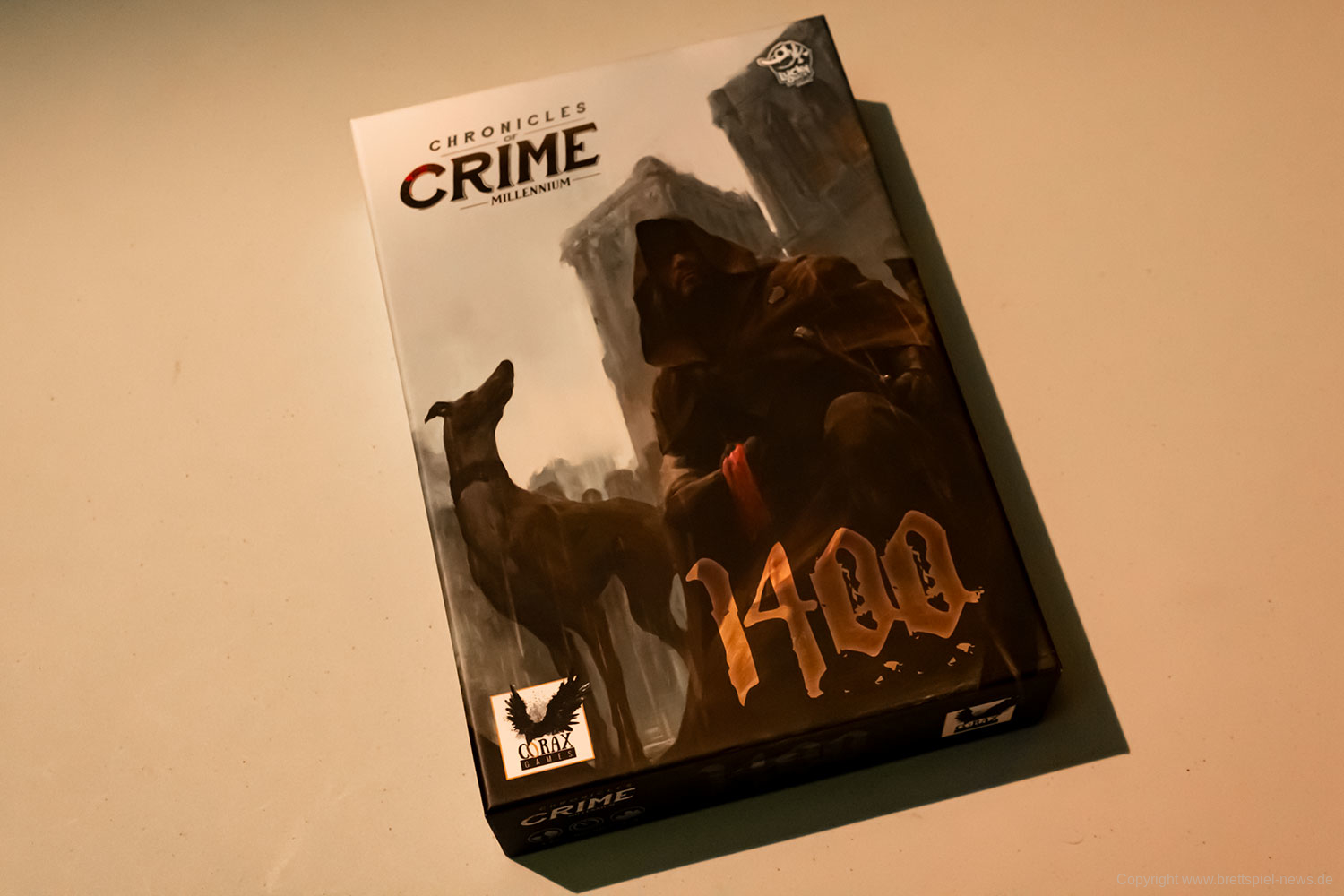 CHRONICLES OF CRIME: 1400 // Bilder vom Spielmaterial