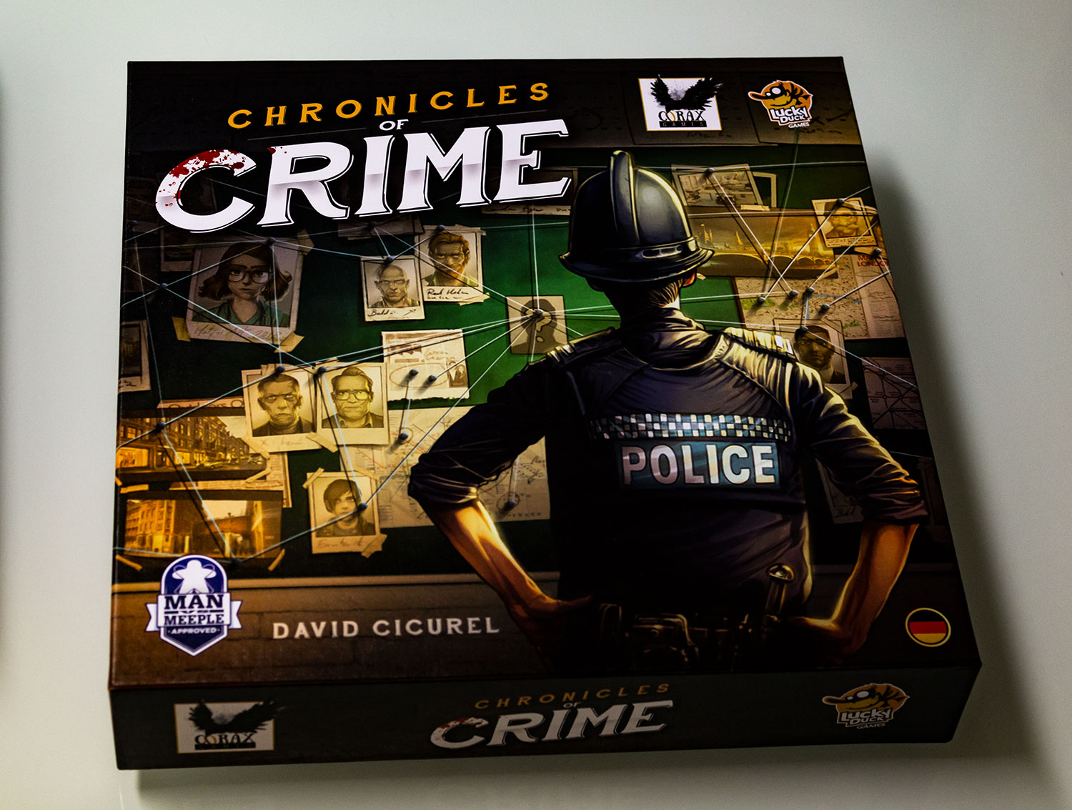 Chronicles of Crime ist – Das Spielmaterial