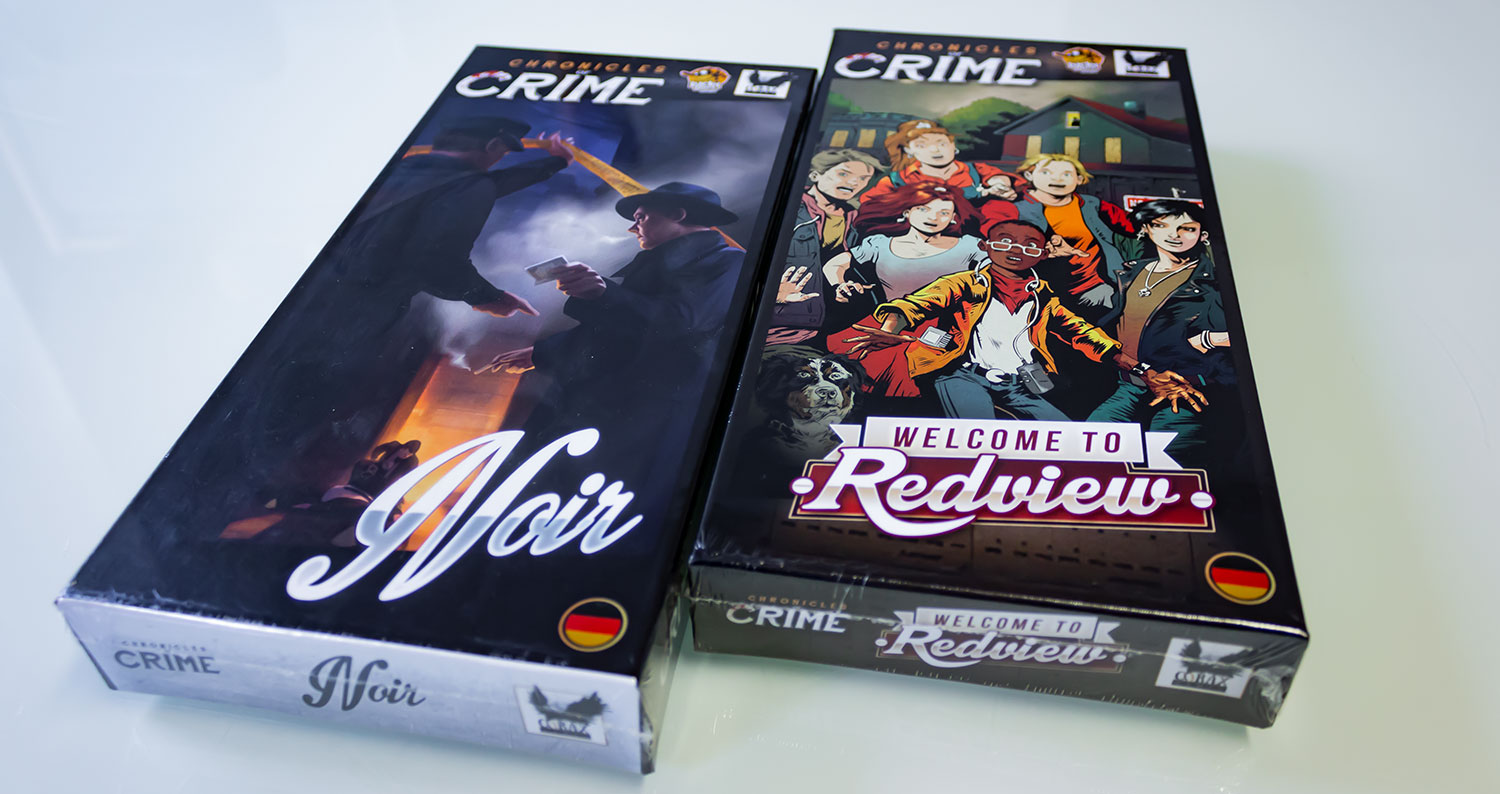 Chronicles of Crime: Noire und Welcome to Redview Erweiterungen