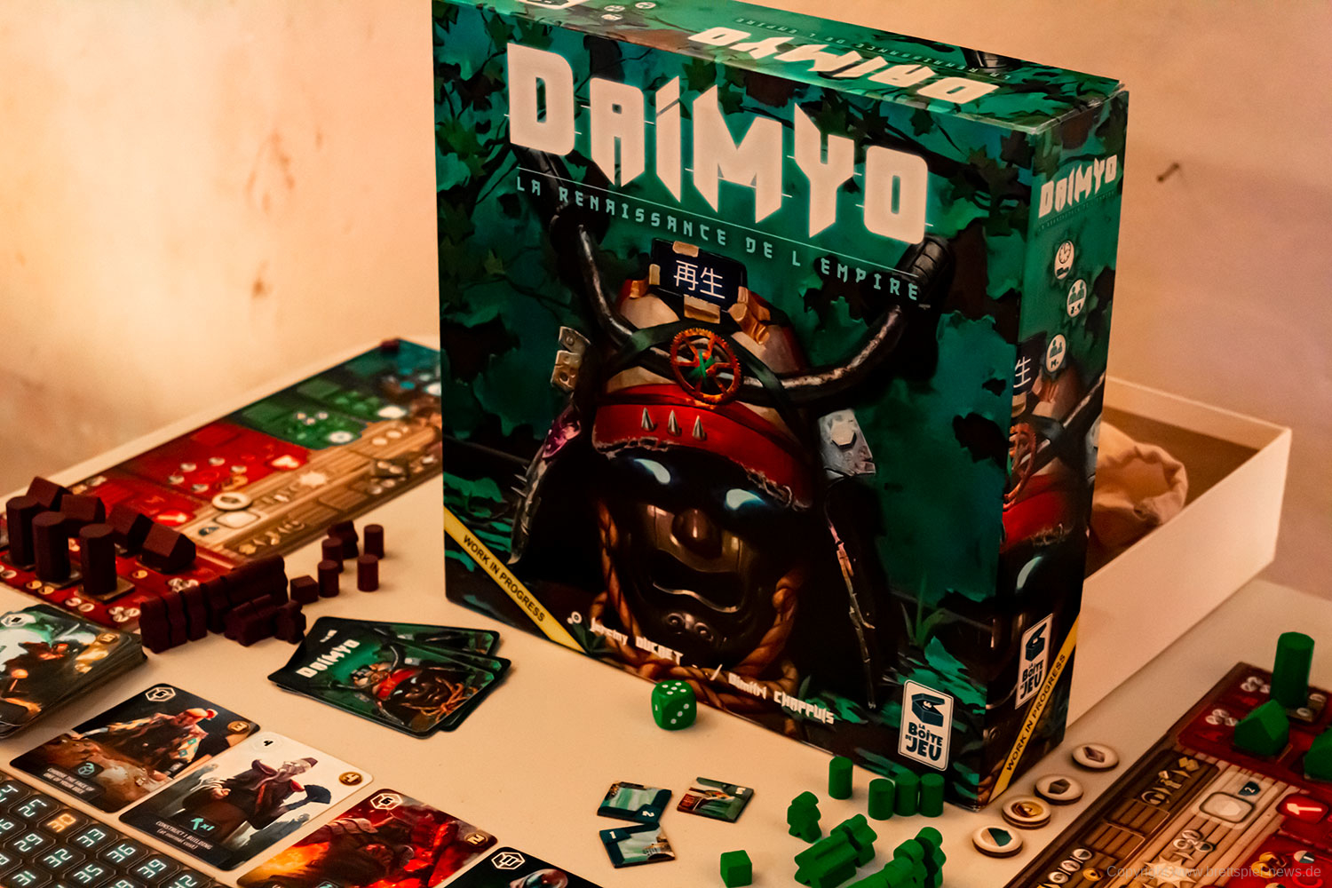 DAIMYO: REBIRTH OF THE EMPIRE // Bilder vom Prototyp