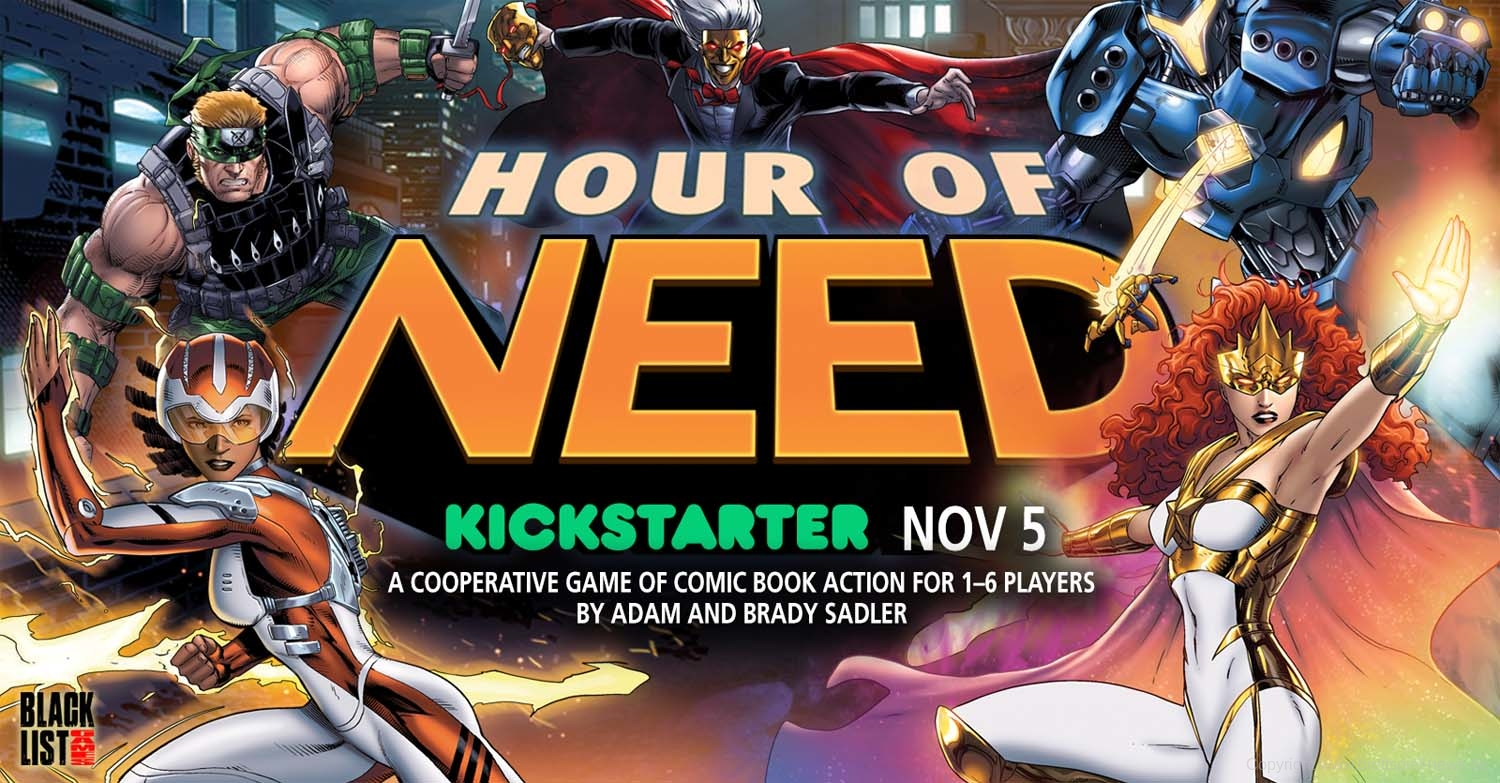 HOUR OF NEED // Kickstarter ab dem 05.11.2019, 17:00 Uhr