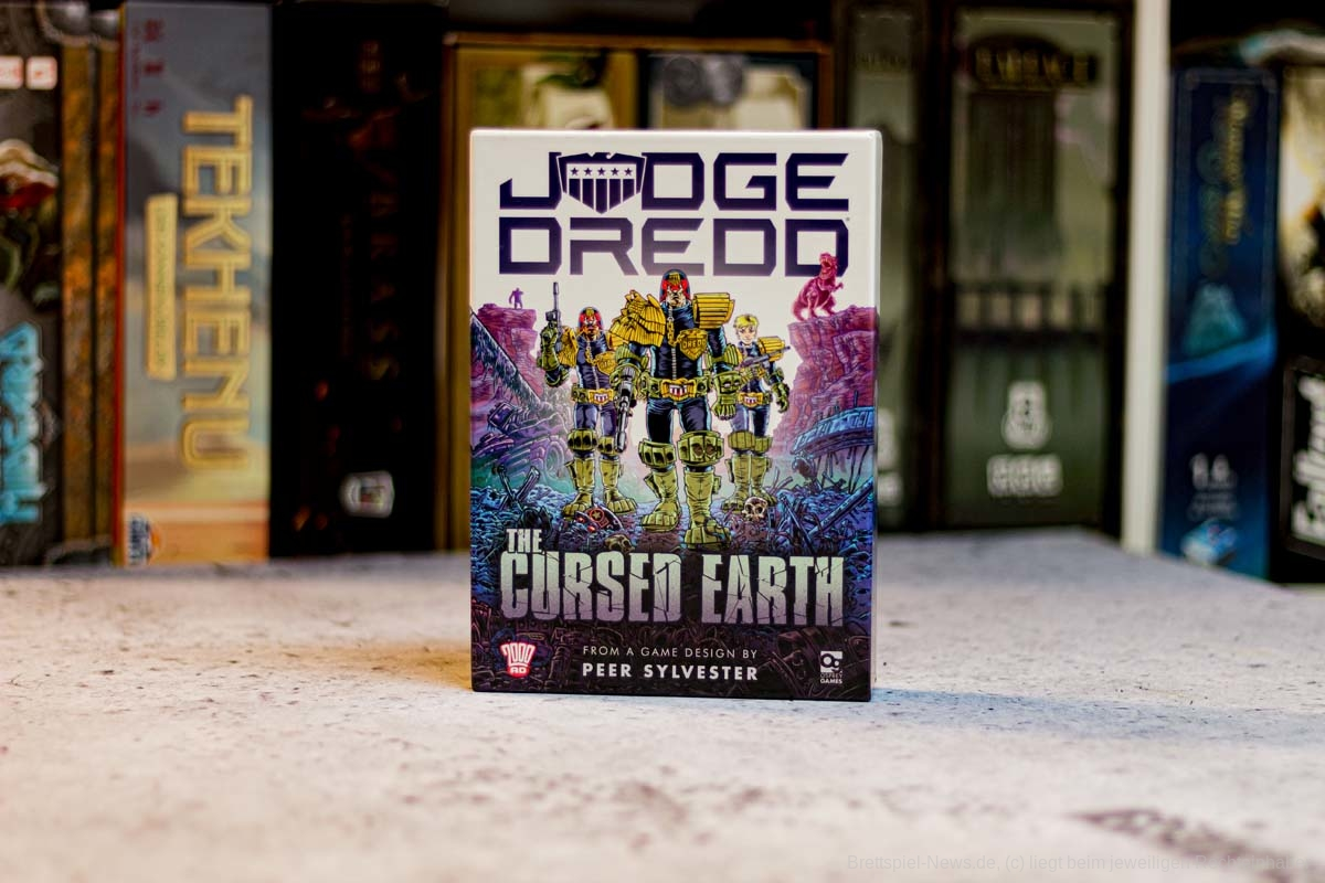 TEST // JUGDE DREDD: THE CURSED EARTH