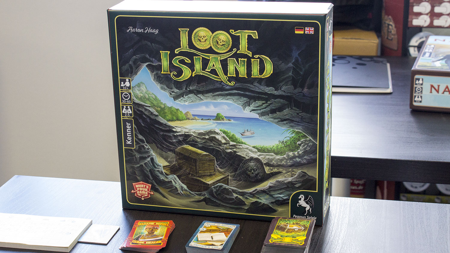 Loot Island - Pegasus Neuheit von Whats your Game angespielt