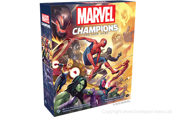 MARVEL CHAMPIONS: THE CARD GAME // Englische Version erscheint in Deutschland