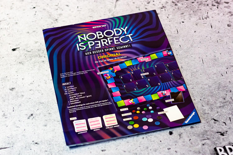 NOBODY IS PERFECT - ORIGINAL // Bilder vom Spiel