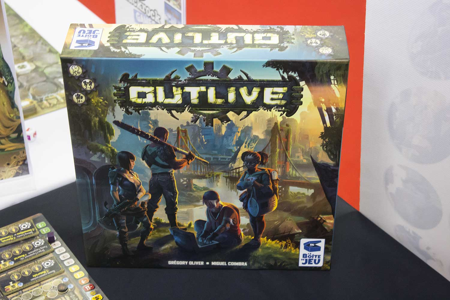 Outlive - Das Survival Worker Placement Spiel