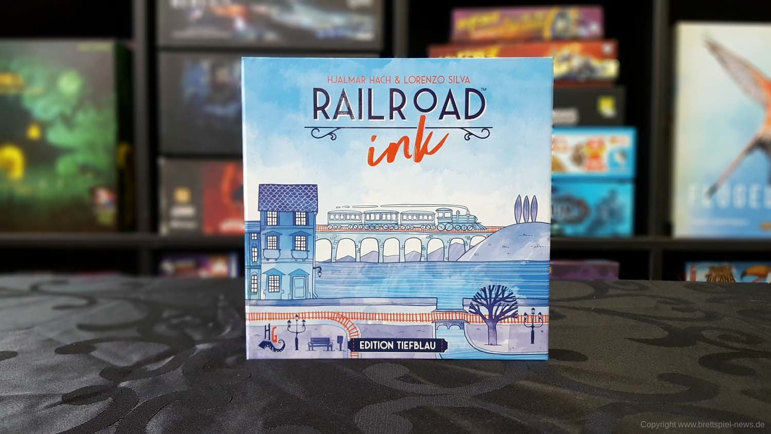 TEST // RAILROAD INK -  EDITION TIEFBLAU