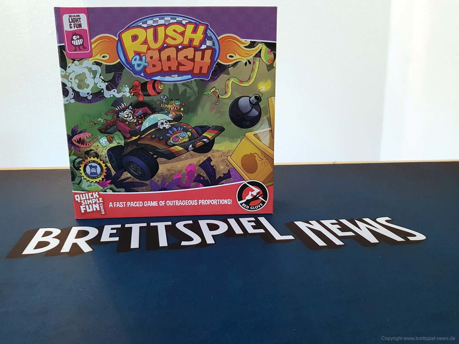 TEST // RUSH & BASH