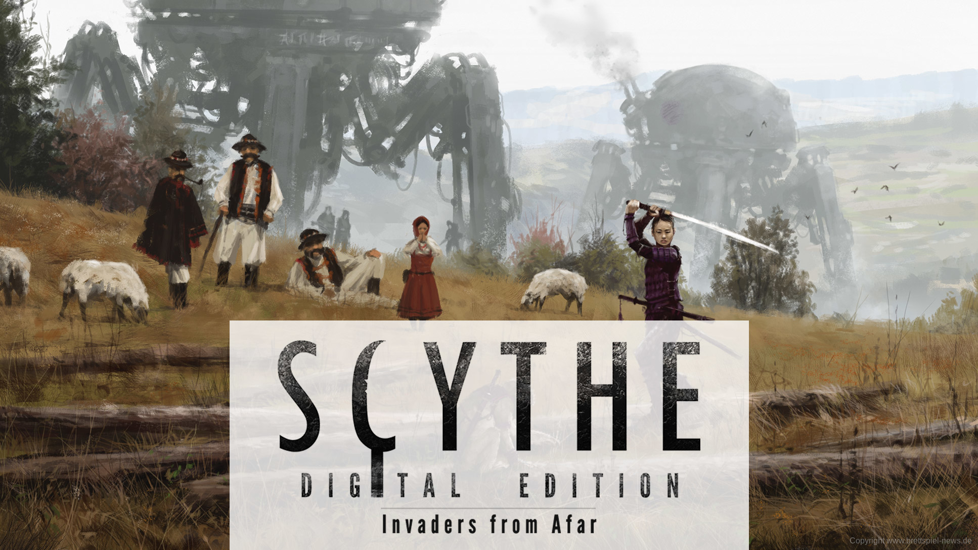 SCYTHE DIGITAL // Invaders from Afar – erste Bilder