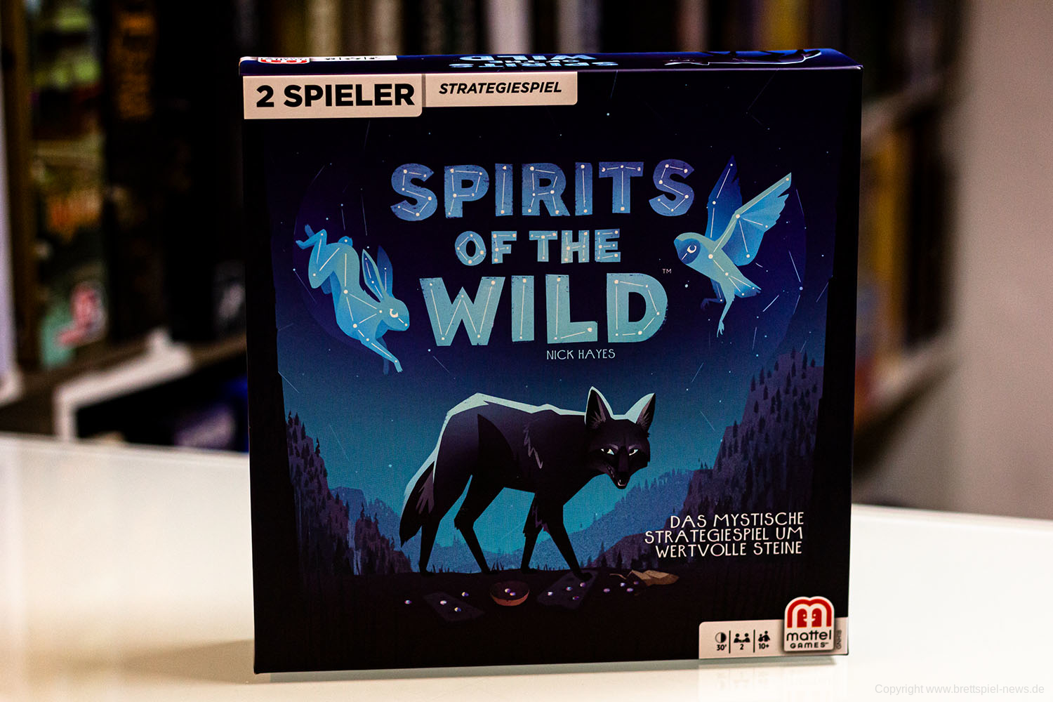 TEST // SPIRITS OF THE WILD