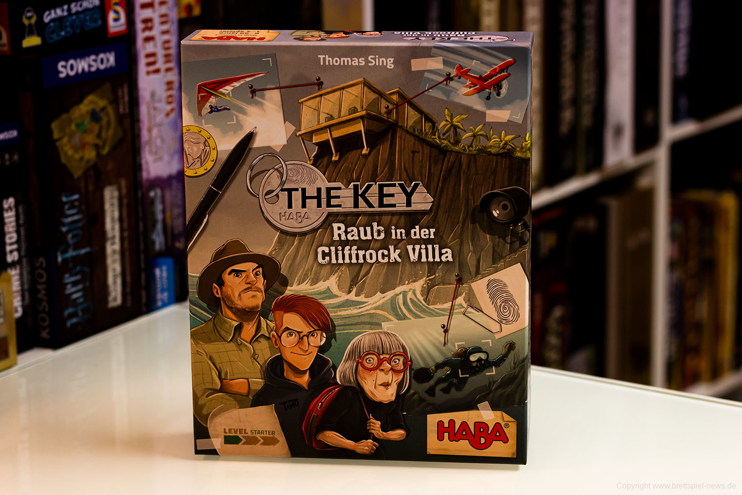 THE KEY: RAUB IN DER CLIFFROCK VILLA // Bilder vom Spiel