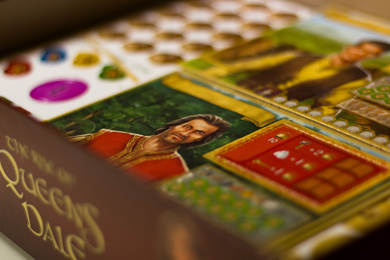 Spielmaterial : The Rise of Queensdale – erste Bilder