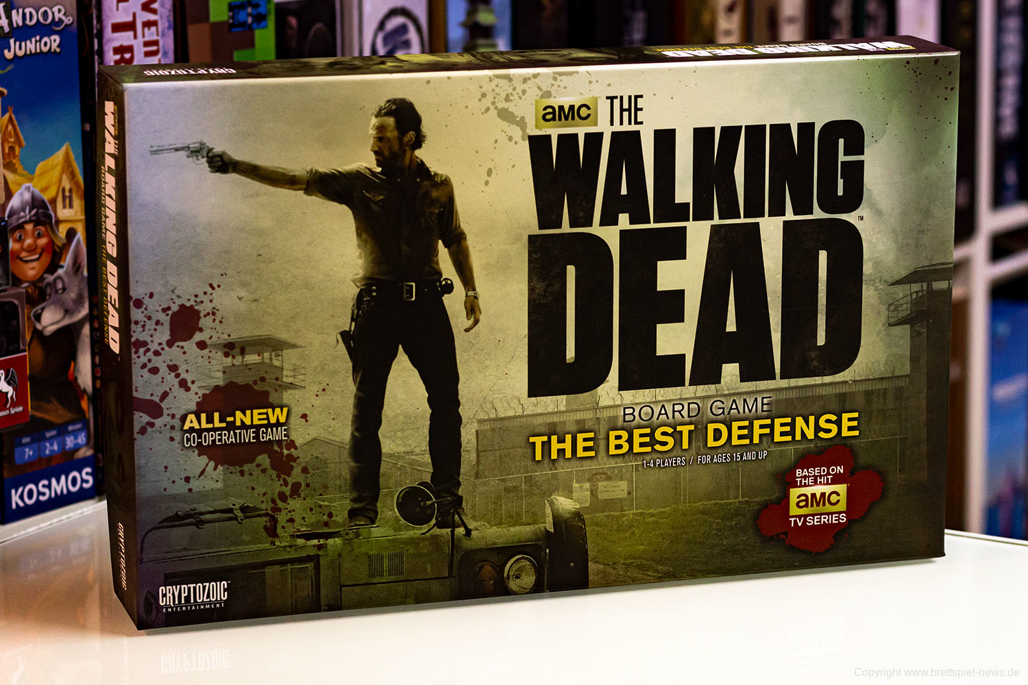 THE WALKING DEAD BOARD GAME: THE BEST DEFENSE // Bilder vom Spiel