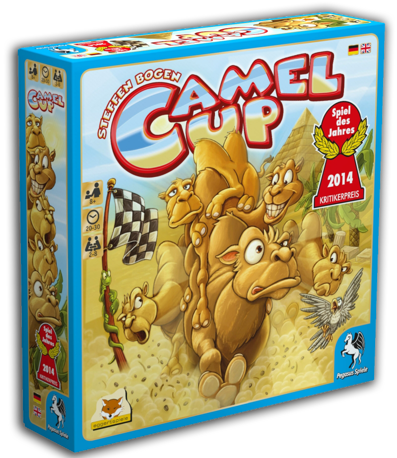 Camel Up - Spieletest