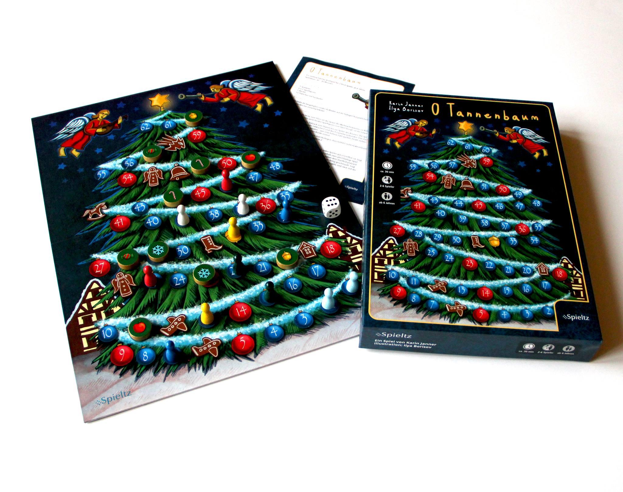 O Tannenbaum! Familien-Brettspiel für Weihnachten und Advent