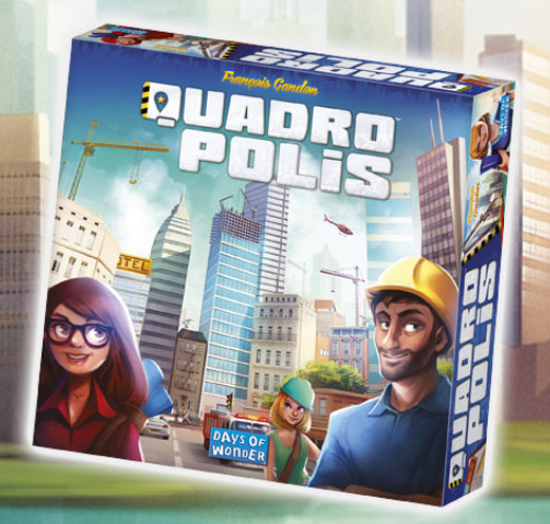 Test: Quadropolis von Days Of Wonder
