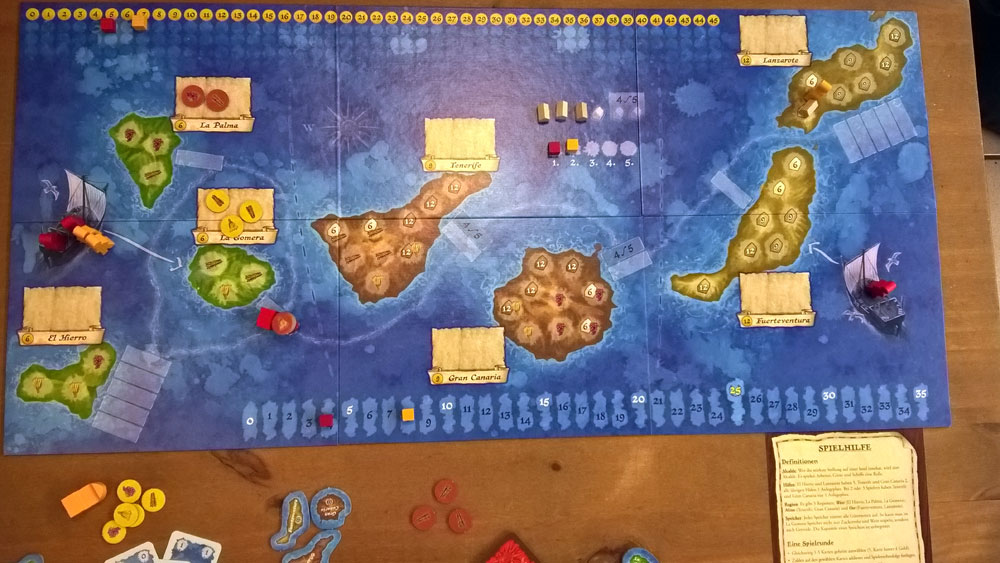 West of Africa von Martin Schlegel, Brettspiel, Strategiespiel, ADC Blackfire Entertainment, Rezension, Test