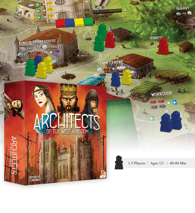 Architects of the West Kingdom aktuell auf Kickstarter