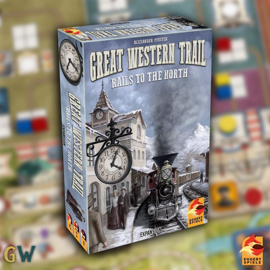 Great Western Trail: Rails to the North - Das Cover