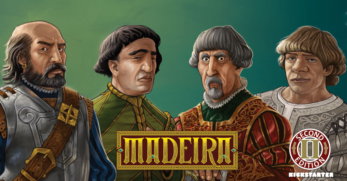 Meadeira Second Edition startet bald auf Kickstarter