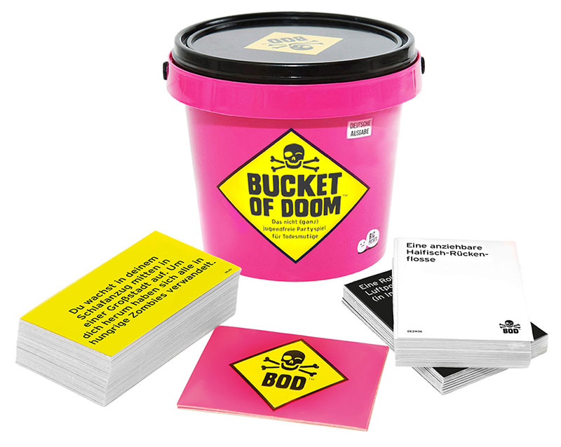 Bucket of Doom auf dem Weg in den Handel