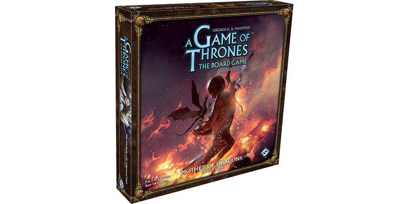 A Game of Thrones: The Board Game– Mother of Dragons angekündigt