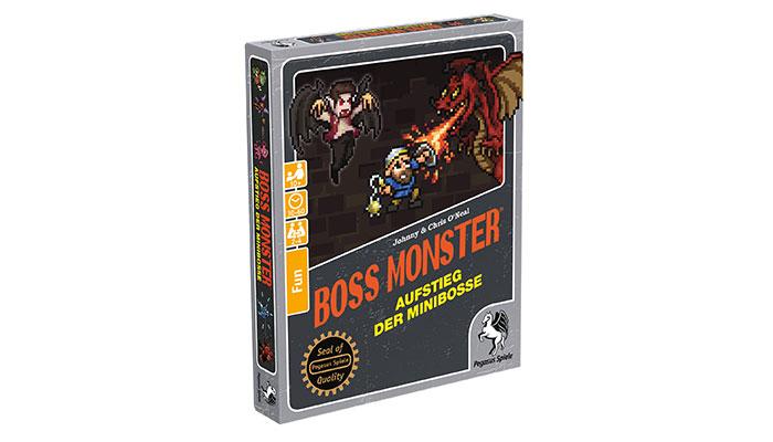 Boss Monster wird mit Aufstieg der Minibosse fortgesetzt