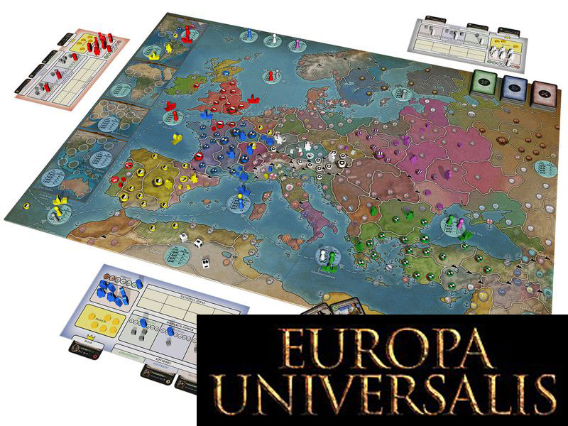 Europa Universalis: The Board Game angekündigt