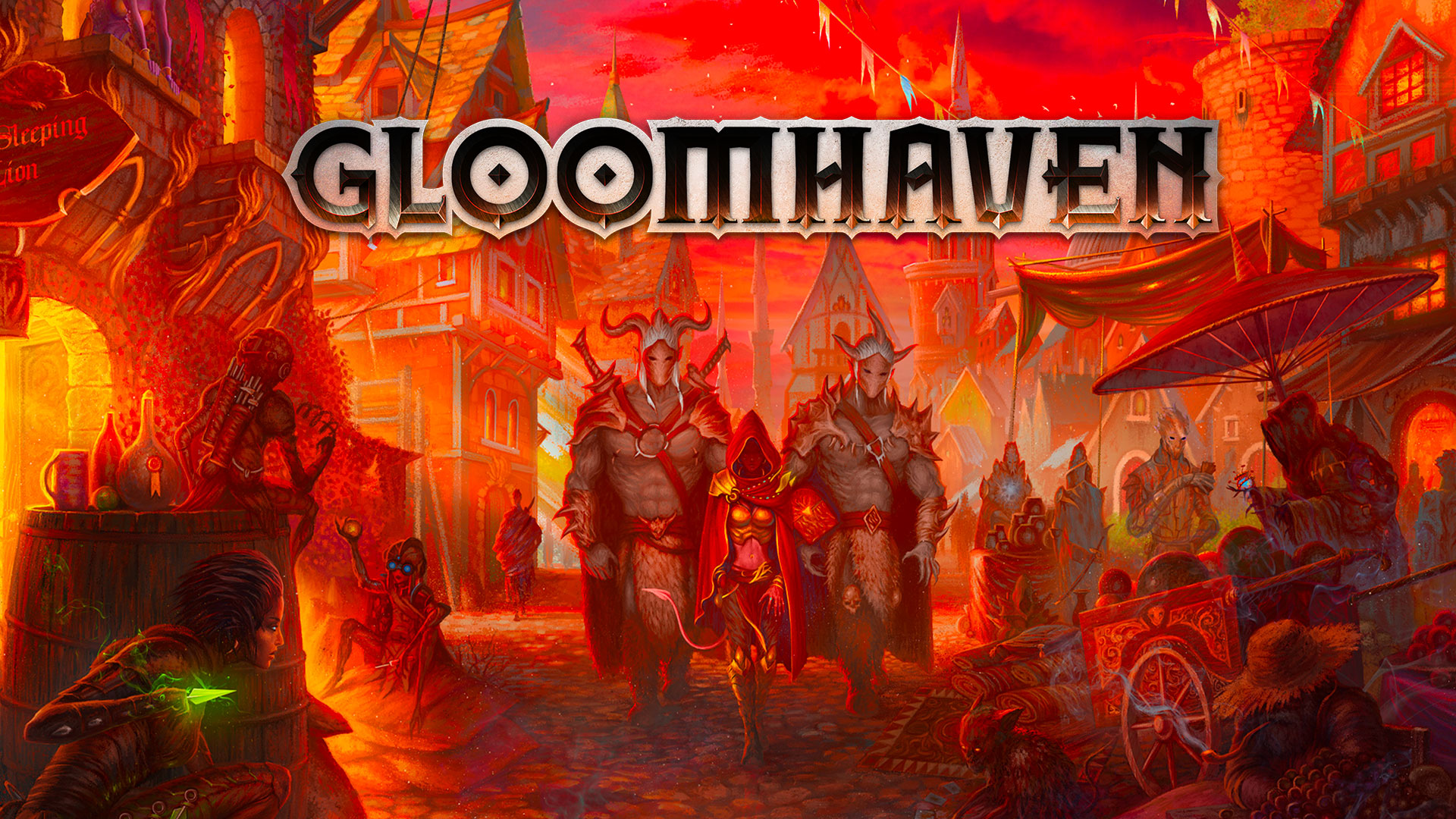 Gloomhaven - digitale Adaption angekündigt