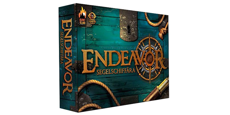Endeavor – Segelschiffära bald im Board Game Circus Shop