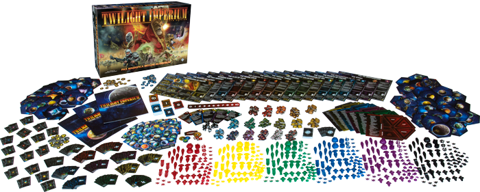 Twilight Imperium 4. Edition auf dem Weg in den Handel