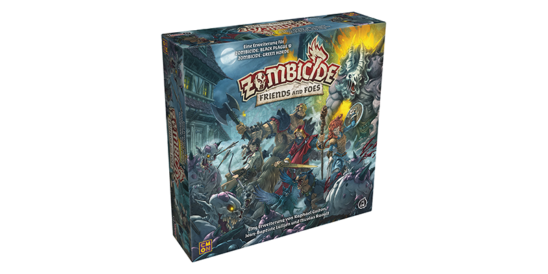 CMON // Zombicide: Friends and Foes angekündigt