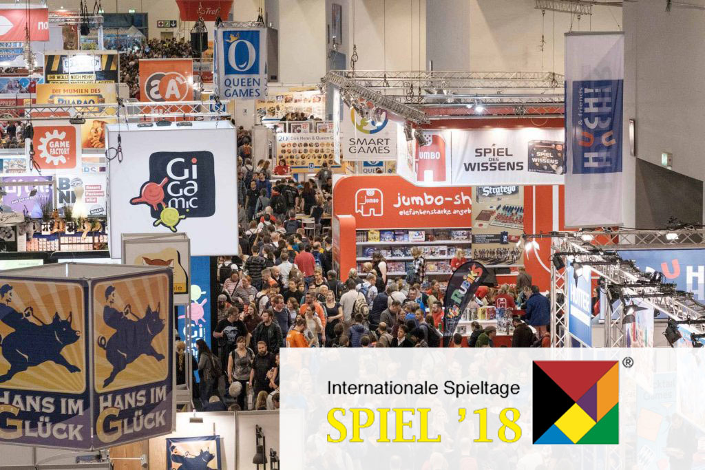 Programm Punkte/Trends: 36. Internationale Spieltage SPIEL '18