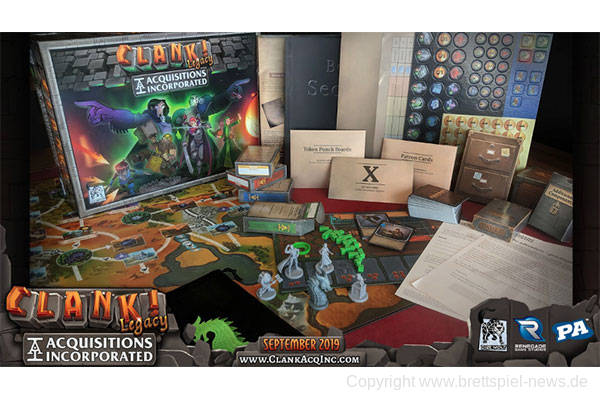 CLANK! LEGACY: ACQUISITIONS INCORPORATED // Erscheint im Herbst 2019